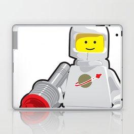 Vintage White Spaceman Minifig Laptop & iPad Skin