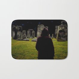 Druid Princess of Stonehenge Bath Mat
