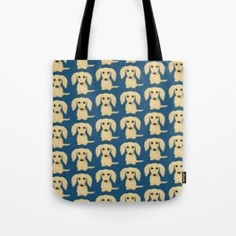 Longhaired Cream Dachshund Tote Bag