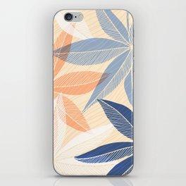 Modern Hawaiian Print II iPhone Skin