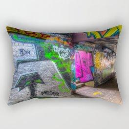 Leake Street London Graffiti  Rectangular Pillow
