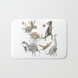 PARTY OF DINOSAURS Bath Mat