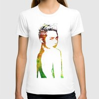 miley T-shirts featuring Miley Cyrus by Greg21