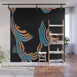 5126s-MAK Abstract Large Breasts Torso Composition Style Wall Mural