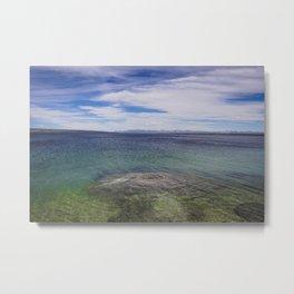Fishing Cone, West Thumb Geyser Basin, Yellowstone Metal Print