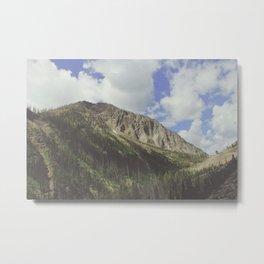 Yellowstone Mountains Metal Print