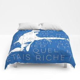 Zinedine Zidane Comforters