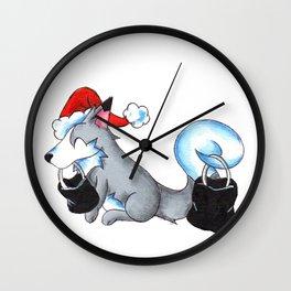 Black Friday Secret Santa Wall Clock