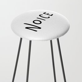 Noice. Smort. Counter Stool