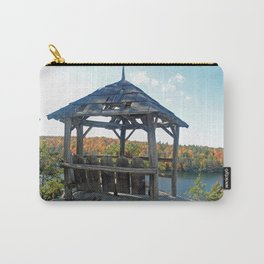 Rustic gazebo, Lake Minnewaska Carry-All Pouch