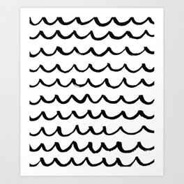 On the Same Wavelength Art Print