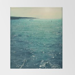 Sea is Always in your Mind Throw Blanket
