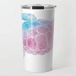 Watercolor Sea Tu Travel Mug