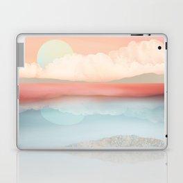 Mint Moon Beach Laptop & iPad Skin