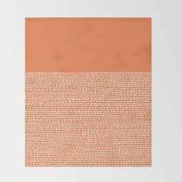 Riverside - Celosia Orange Throw Blanket