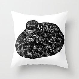 Snake Friend Throw Pillow