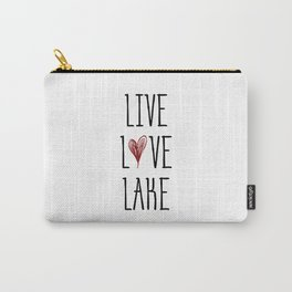 Live Love Lake Carry-All Pouch
