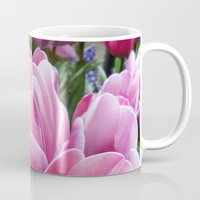 tulips Mugs featuring tulips by Liudvika's Lens