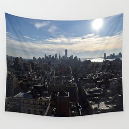 Downtown Manhattan Wall Tapestry