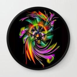 Rainbow Creations 2 Wall Clock