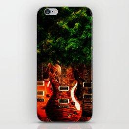 Tree Guitar iPhone Skin