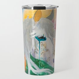 You and me - Horses - Animal - by LiliFlore Travel Mug
