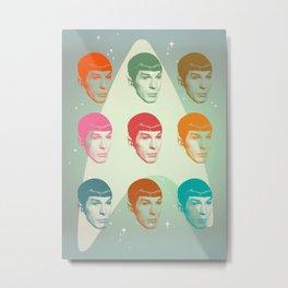 Mr.Spock Metal Print