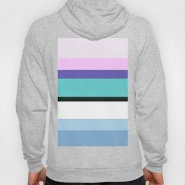 Mermaid inspired stripe Hoody