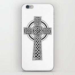 Celtic Knot Cross Tattoo iPhone Skin