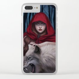 Blood to bear me flowers Clear iPhone Case
