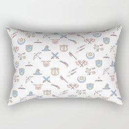 Cute Dungeons and Dragons classes Rectangular Pillow