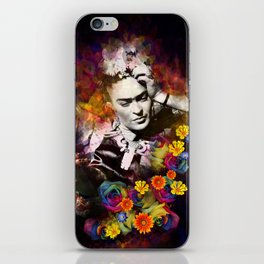 The colors of Frida iPhone Skin