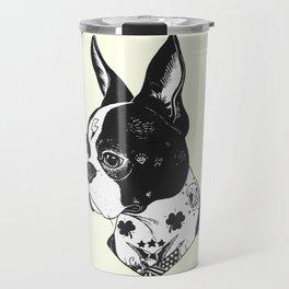 Dog - Tattooed BostonTerrier Travel Mug