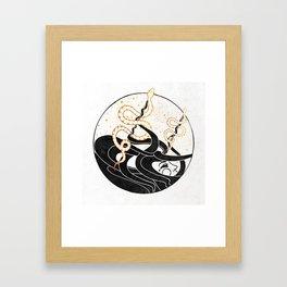 Medusa's Snakes Inktober :: Darlings, Don't Fear Me Framed Art Print