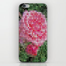 Pink Roses in Anzures 2 Mosaic iPhone Skin