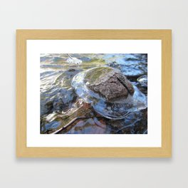 Fluidity.  Communicate.  Individuality. Artist concept photography. by Evan Clarke Framed Art Print