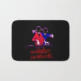 Headset Heroes Bath Mat