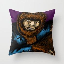 The Wolfman Throw Pillow