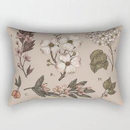 Flowering Spring Trees Rectangular Pillow