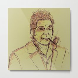 Kramer (brown) Metal Print