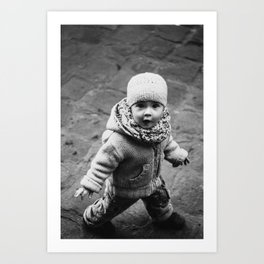 Innocent Girl Art Print