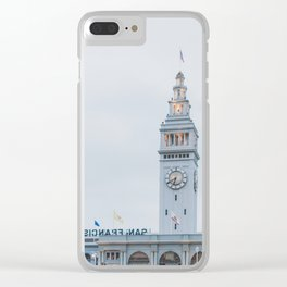 Port of San Francisco Clear iPhone Case