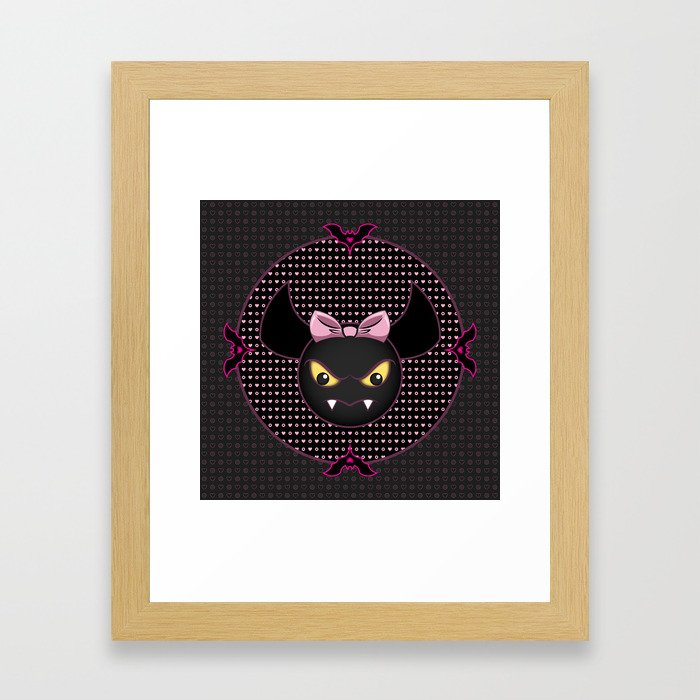 COUNT FABULOUS - Monster High Pet Framed Art Print