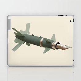 sky writing Laptop & iPad Skin