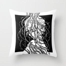 Brambles 15 Throw Pillow