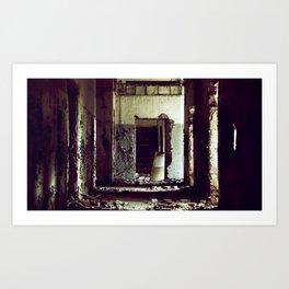 Forgotten Spaces Art Print