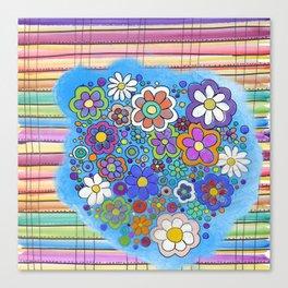 sarape y flore Canvas Print