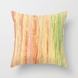 cascada de colores Throw Pillow