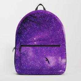 Nightscape in Ultra Violet Backpack