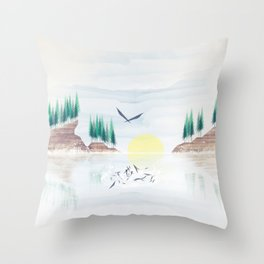 Myth One Throw Pillow